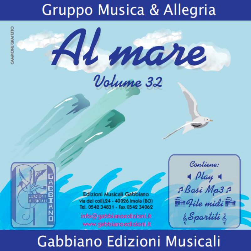 GBN132CD/CL - Al mare - Volume 32