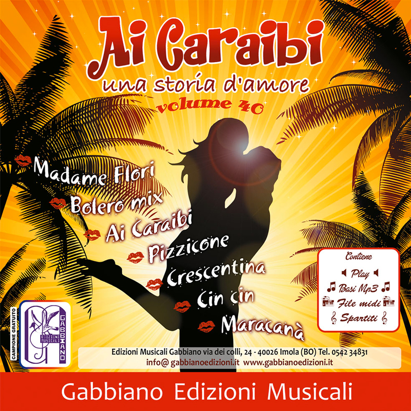 GBN140CD/CL - Ai Caraibi - Volume 40