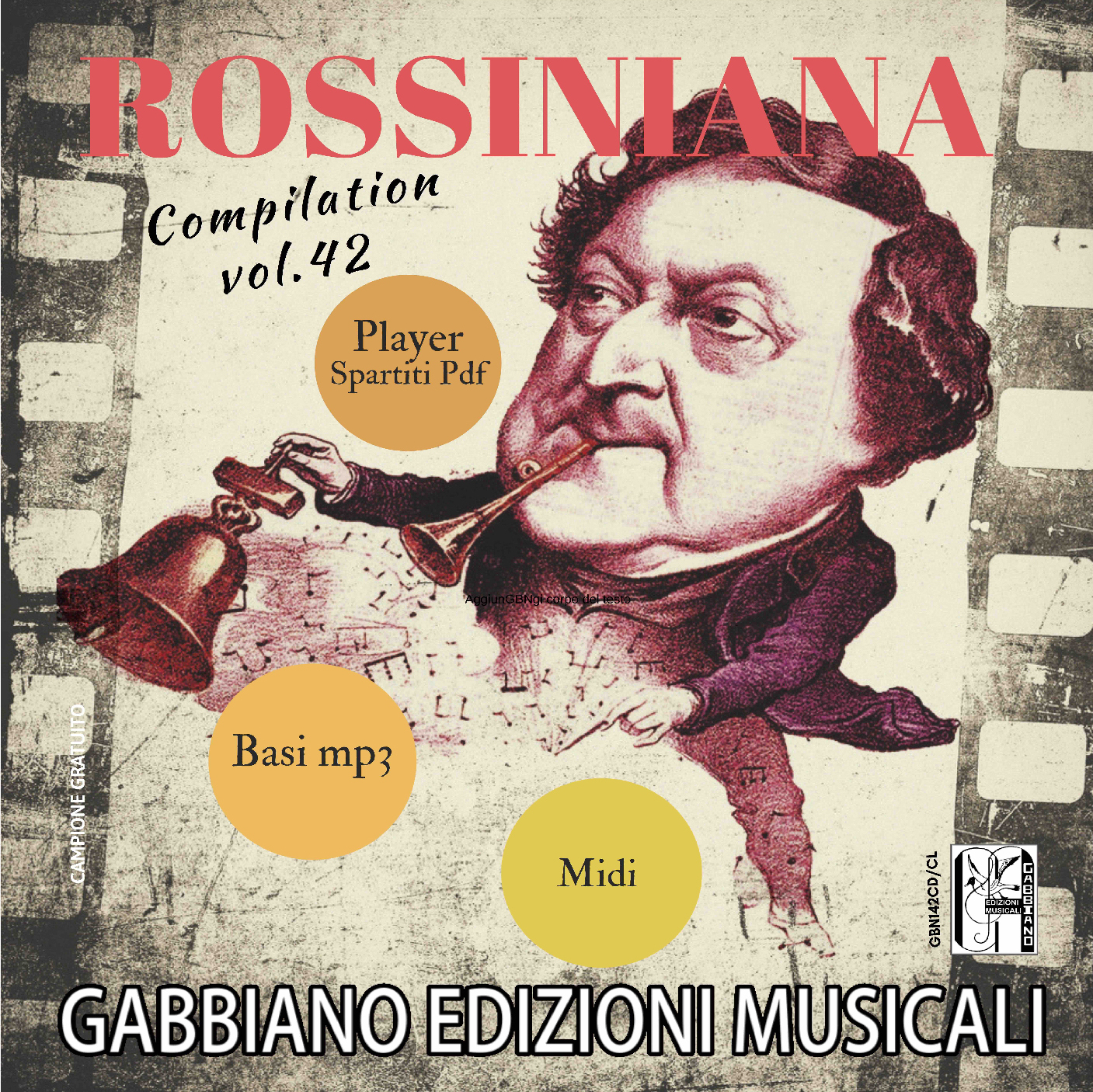 GBN142CD/CL - Rossiniana - Volume 42