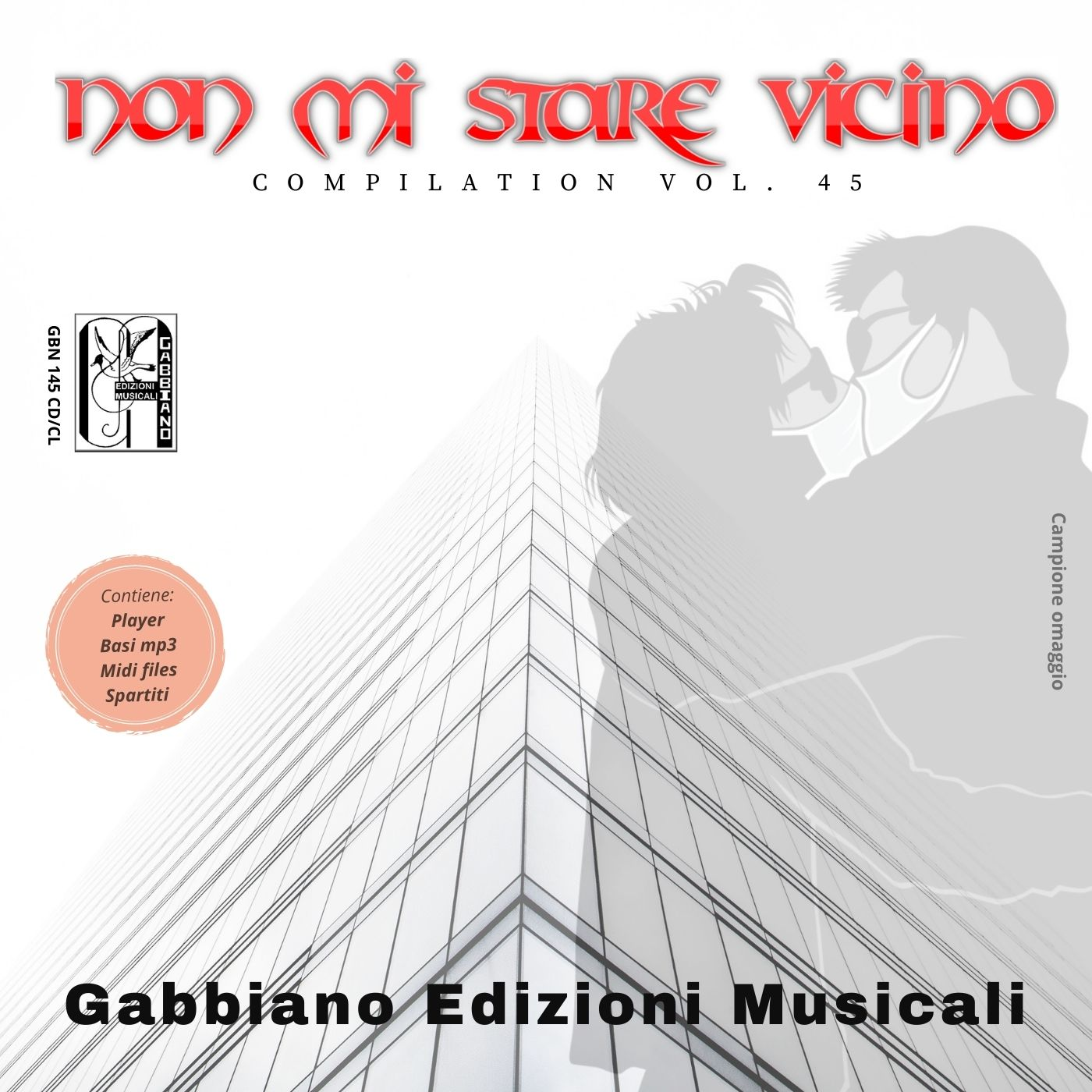 GBN145CD/CL - Non mi stare vicino (compilation) - Volume 45