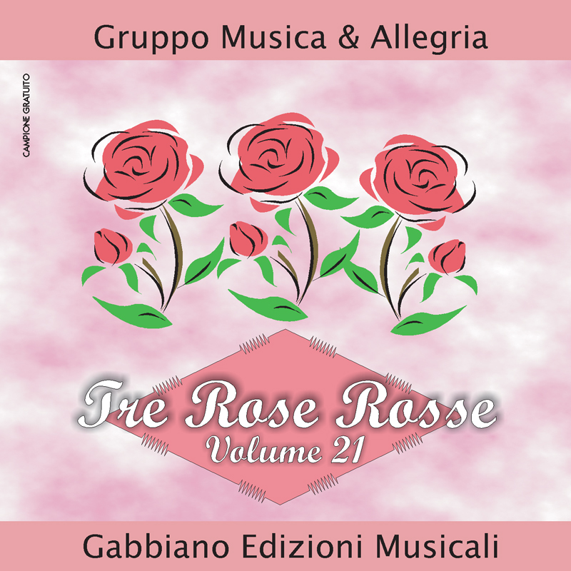 GBN121CD/C - Tre rose rosse - Volume 21