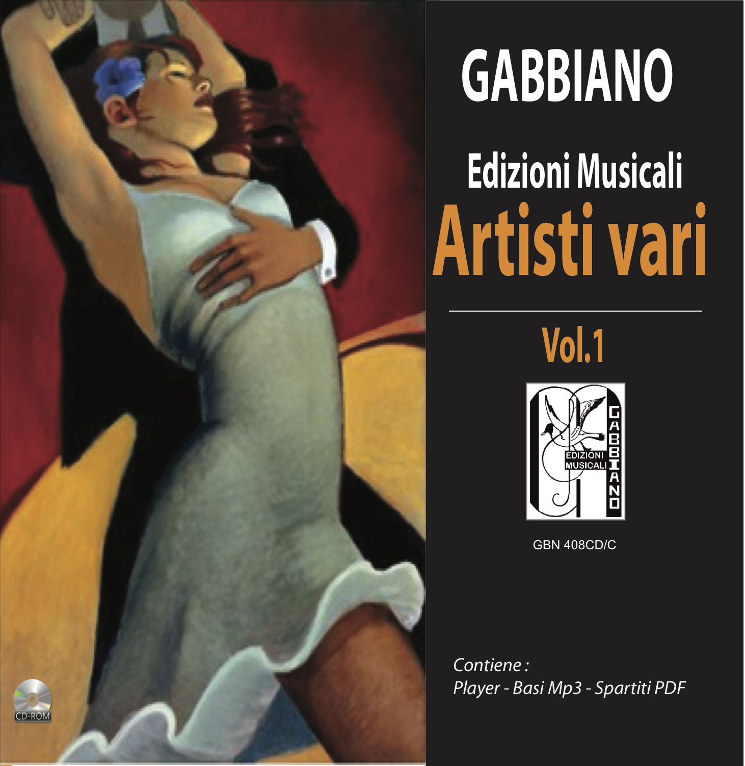 GBN408CD/C - Artisti vari Vol.1 - Volume 408
